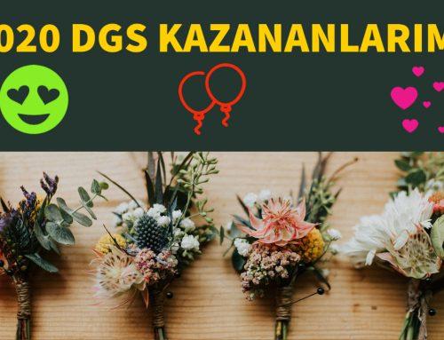 DGS 2020 Kazananlar